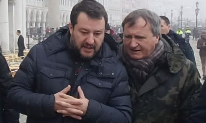 Venezia, visita lampo di Salvini in città