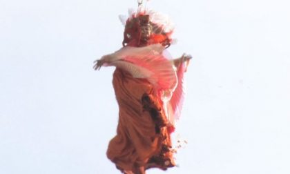 Venezia, il volo dell'angelo apre i festeggiamenti del Carnevale FOTO e VIDEO