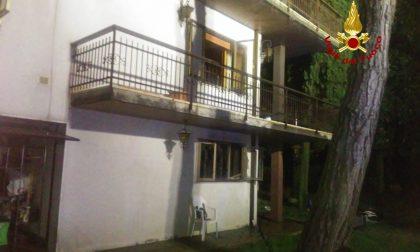 Martellago: Vigili del Fuoco salvano un 88enne dall'incendio della sua abitazione