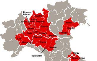 Coronavirus Veneto paralizzato: Venezia, Padova e Treviso zone rosse