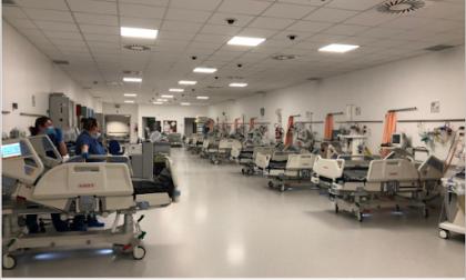 Covid Hospital: si amplia il centro terapia intensiva a Schiavonia