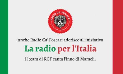 Flashmob La radio per l'Italia: anche Radio Ca' Foscari partecipa