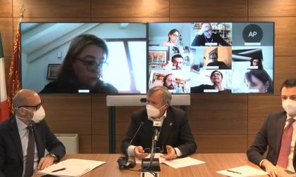 """L'intervento del Sindaco Brugnaro: si guarda già al """"dopo epidemia""""."""