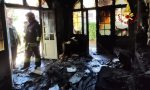 Incendio in Via Torre Belfredo: forse un corto circuito all'origine del rogo GALLERY