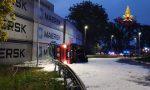 Incidente a Marghera: si rovescia un'autocisterna di gasolio. GALLERY