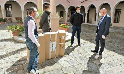 Coronavirus: Inti Ligabue dona 10mila mascherine FFP2 al Comune di Venezia.