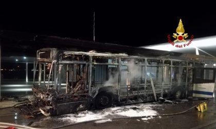 Incendio al Lido: in fiamme un autobus del trasporto urbano GALLERY