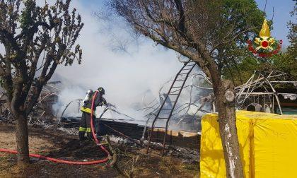 Incendio a San Donà: va in fiamme una serra GALLERY