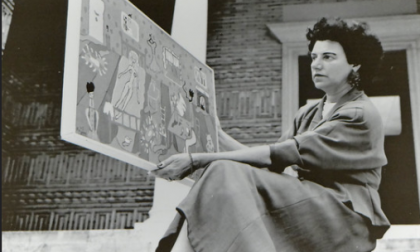 In punta di piedi tra le opere di Peggy Guggenheim: ecco il tour virtuale di René Caovilla
