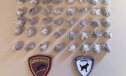 Inseguimento in via Cappuccina: arrestato uno spacciatore con 37 involucri di marijuana addosso