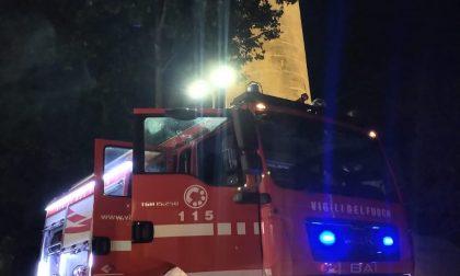 Incendio a Marghera: guasto nella storica torre piezometrica