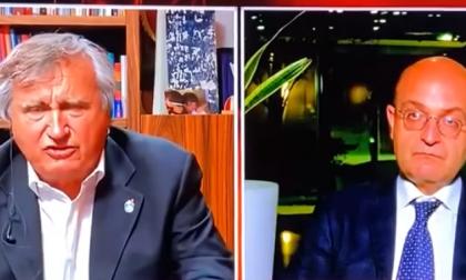 """Brugnaro sbotta """"Non siete cattivi, siete incapaci!"""". Lo scontro con il vice Ministro Misiani in diretta tv"""