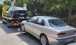Sequestrate sette auto senza assicurazione in Via Triestina: sanzioni per 7mila euro