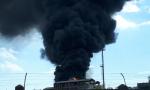 Incendio a Porto Marghera: fiamme nei pressi degli impianti 3V Sigma VIDEO
