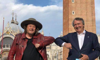 """""""Amore adesso!"""" il nuovo singolo di Zucchero in una spettacolare piazza San Marco deserta"""