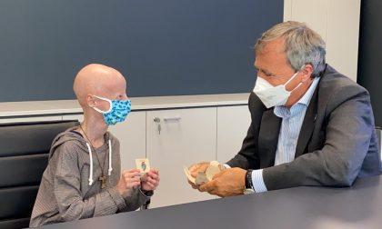 Sammy Basso ospite a Venezia: il testimonial per la ricerca sulla progeria incontra il sindaco Brugnaro