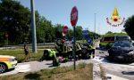 Incidente in Via Triestina: scontro tra due auto, ferita una donna GALLERY