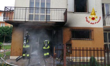 Incendio a Spinea: un garage in fiamme e due feriti GALLERY