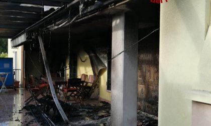 Marcon: in fiamme un'abitazione di viale San Marco GALLERY