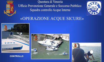 Controlli in Laguna: sequestrate 4 imbarcazioni modificate con Power Lift
