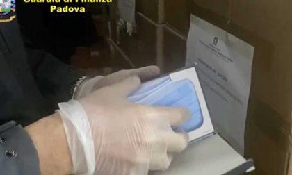Pianiga: sequestrate 610mila mascherine non a norma, venivano vendute nel padovano