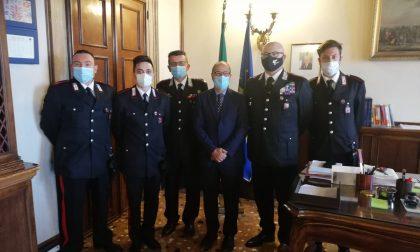 Mira: riconoscimento del Prefetto di Venezia ai militari che avevano evitato il peggio...