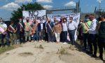 """Sit-in a Conetta per scongiurare l'arrivo dei migranti: """"Il commissariato ha già dato e molto"""""""