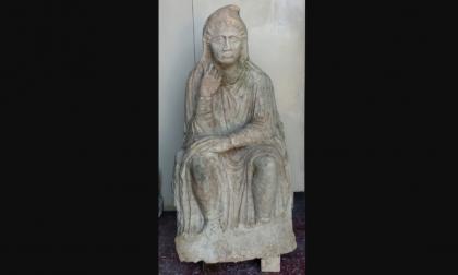 Altino, trovata nelle campagne una scultura romana: era parte di un monumento funerario