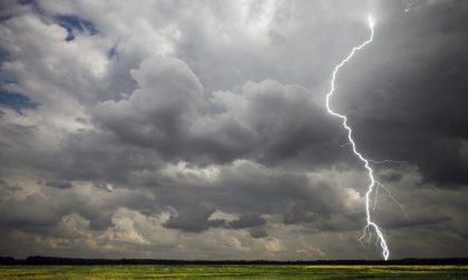 Allerta maltempo: stato di attenzione per forti temporali fino a sabato