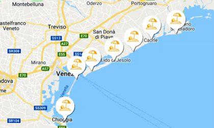 VeniceSands.app: nasce la web app delle spiagge venete