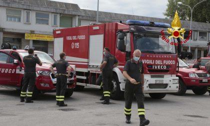 Vigili del fuoco: 20 unità in supporto ai colleghi di L'Aquila contro l'emergenza incendi