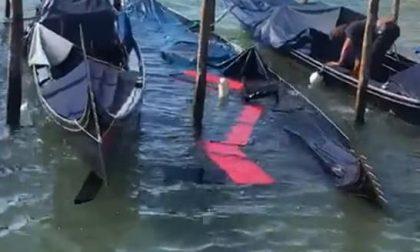 Violentissimo temporale su Venezia: grandine e pioggia sul centro cittadino