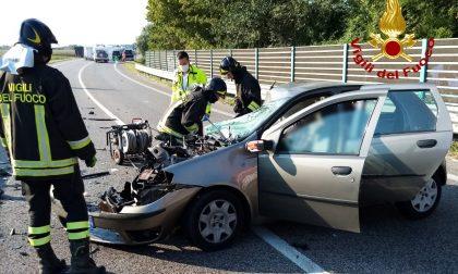 Tragedia a San Donà di Piave, scontro tra due auto: un morto
