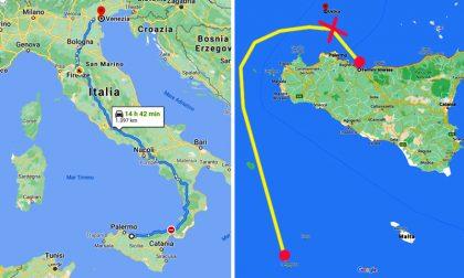 Sono veneziani i due terrapiattisti che cercavano a Ustica… la fine del mondo