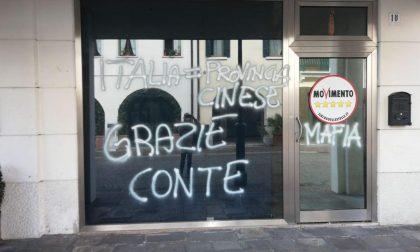 """""""M5S Mafia"""", atto vandalico alla senatrice a Mestre"""