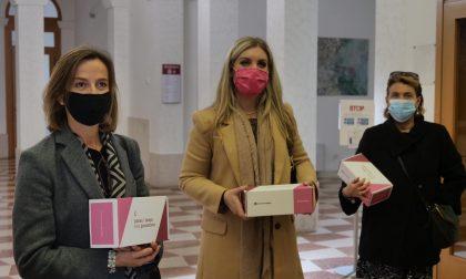 Ottobre Rosa: consegnato alle donne dell'Amministrazione il simbolo della lotta al tumore al seno