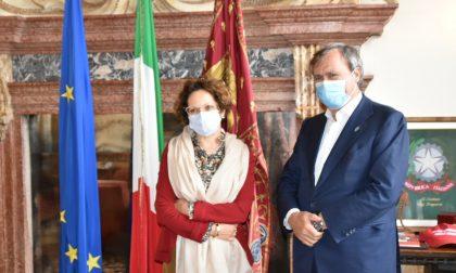 Il sindaco Brugnaro incontra la professoressa Lippiello, rettrice di Ca' Foscari