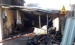 Incendio a Mellaredo, sottoportico in fiamme: danni anche al piano terra della casa – FOTO