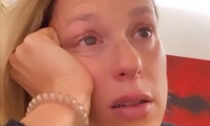 """Federica Pellegrini in lacrime, l'annuncio shock: """"Sono positiva al Covid"""" – VIDEO"""