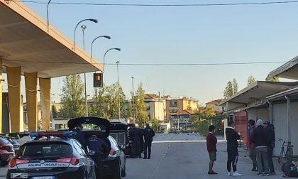 Mestre, sgomberato l'ex mercato ortofrutticolo di via Torino
