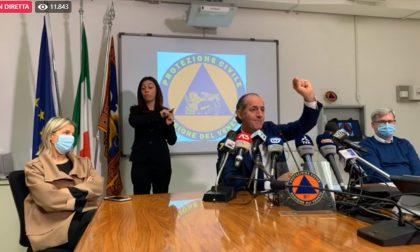 """Covid, Zaia: """"Nuova ordinanza anti assembramento""""   +1300 positivi in Veneto   Dati 22 ottobre 2020"""