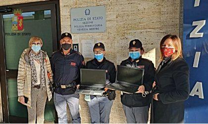 Rubò computer da una scuola, ladro beccato dalla Polfer allo scalo Venezia-Mestre