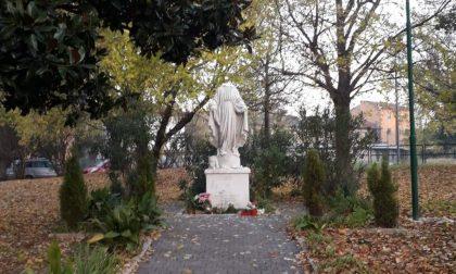 Statua della Madonna vandalizzata a Marghera, decapitata e mani mozzate: preso il responsabile