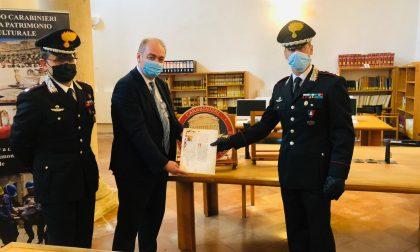 71 anni dopo il furto, i Carabinieri recuperano una prestigiosa pergamena del XIV secolo