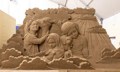 Sculture di sabbia per promuovere Jesolo nel mondo
