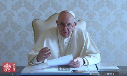 """Videomessaggio di Papa Francesco ai giovani di Venezia per il loro Avvento """"green"""""""