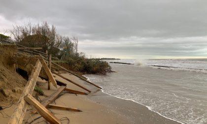 Spiagge erose dalla mareggiata, in cantiere i primi interventi di protezione