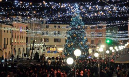 Lotteria di Natale in piazza Mercato a Marghera