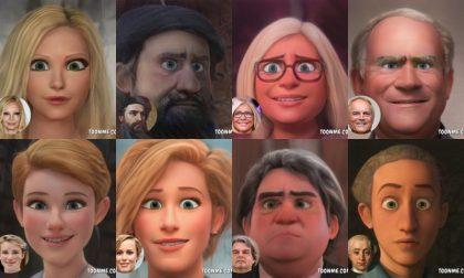 Personaggi famosi di Venezia: come sarebbero in versione cartoon