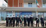 Sede provvisoria dei Carabinieri, la visita del sindaco Zoggia